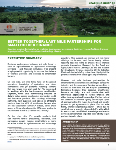 Better together cover page